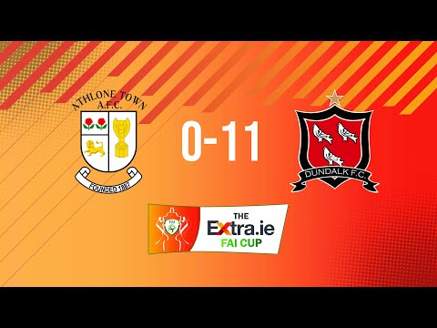 Extra.ie FAI Cup Semi Final: Athlone Town 0-11 Dundalk