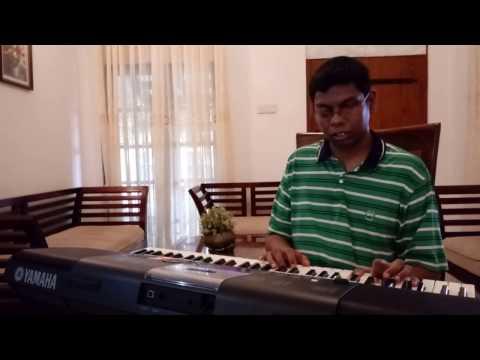 Ase mathuwana kandulu bindu gena  song played by Sankha kumarasinghe
