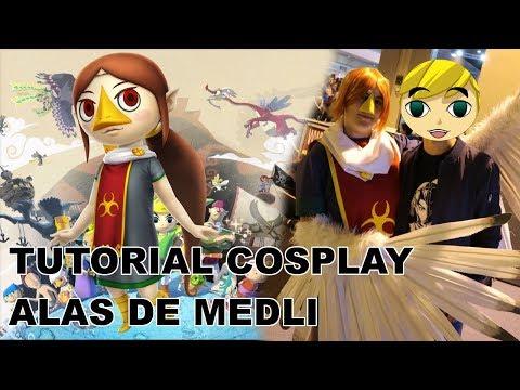 Tutorial Cosplay: Cómo hacer las alas de Medli.