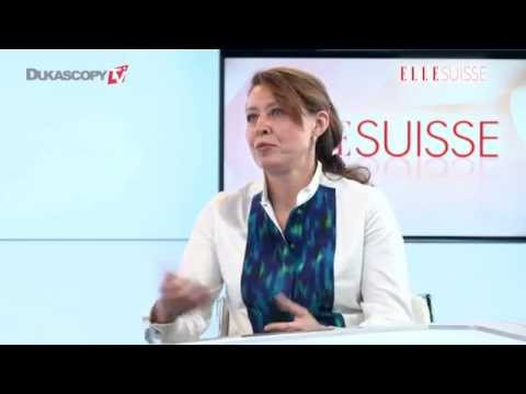 Interview by ELLE Suisse hosted by Dukascopy Bank Geneva
