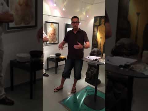 Plastik versus Skulptur.....Kunst mit der 3.Dimension.......eine Performance von BEN SIEGEL