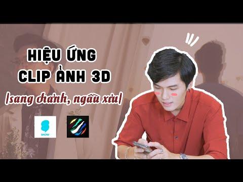 ỨNG DỤNG TẠO CLIP ẢNH 3D CỰC NHANH VÀ SANG XỈU BẰNG ĐIỆN THOẠI   Tô Đi Đâu