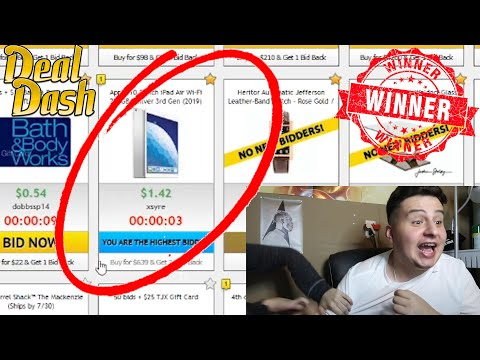 How I Won 4 Items Worth 75$ On #dealdash For 0.4$ Cents ‼️ #GIVEAWAY!!!