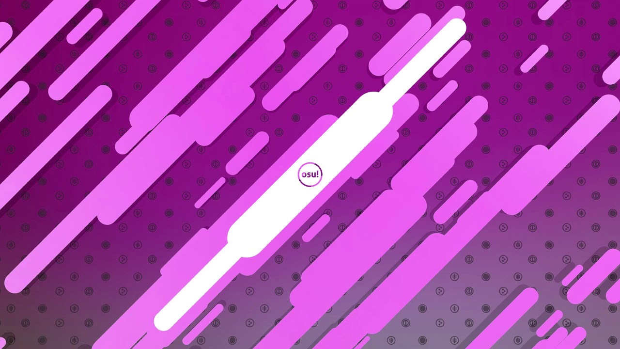 [Wallpaper Engine] Animated New Osu! Background [Pink Ver