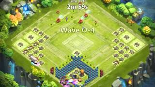 Castle clash new th 15 base ?Dragon claws broken!? Hbm o p and q