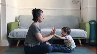 Toddler Yoga opening game