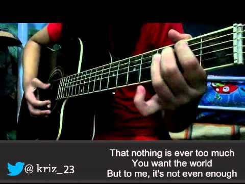 Nothing by FDM (Guitar Cover by kriz 23)
