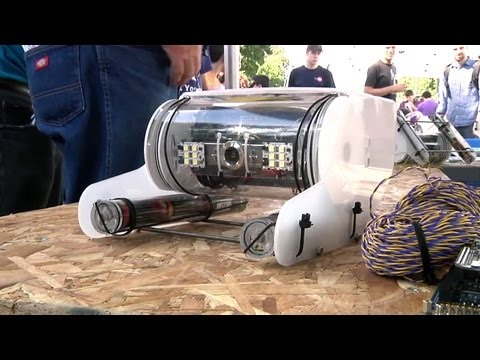 World Maker Faire 2013: OpenROV 2.5 Underwater Robot