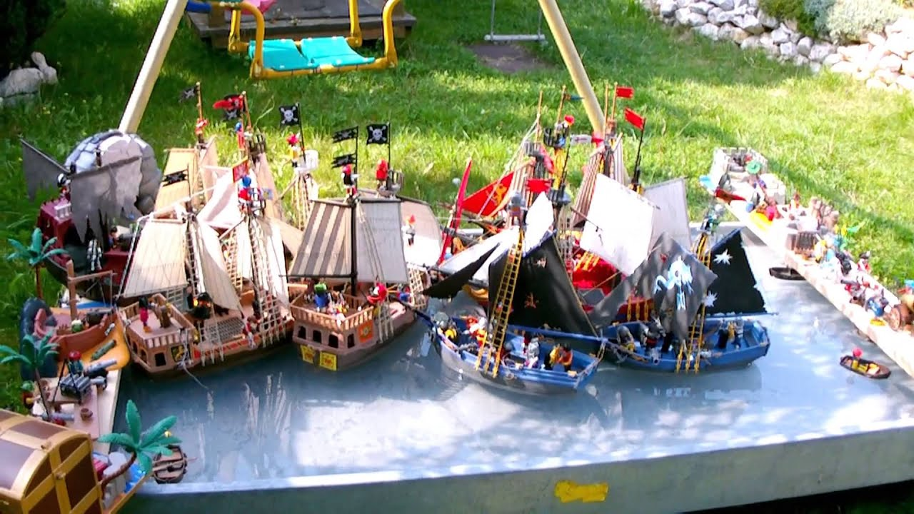 playmobil pirates piraten seeschlacht naval battle. Black Bedroom Furniture Sets. Home Design Ideas