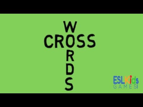 ESL Game : Crosswords
