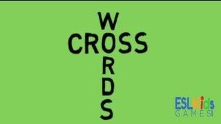 ESL Game : Crosswords