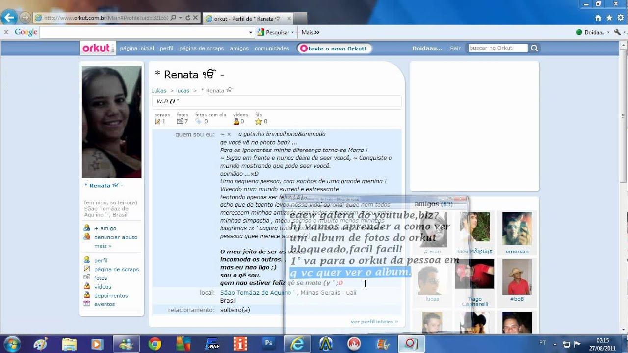 Como ver fotos bloqueadas do orkut 2012 15