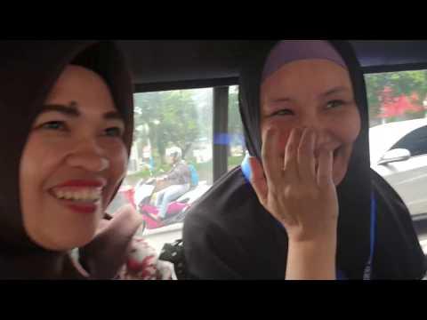 The Jakarta Scooby-Doo Bus (Angkot)