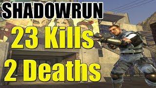Shadowrun Xbox 360 Gameplay Power Station 23 Kills 2 Deaths