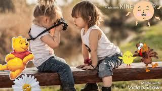 Gambar cover WhatsApp status || cute baby || song || kuch kuch hota hai