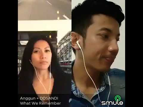 Anggun - What We Remember duet on Sing! By Smule