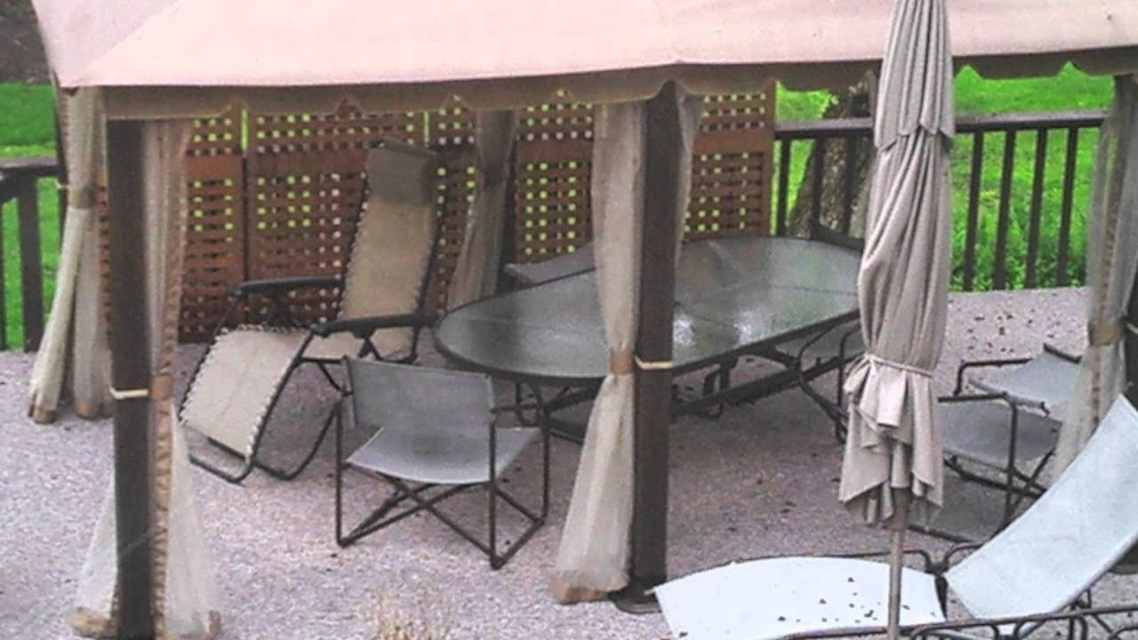 & Home Depot 10x13 Gazebo Replacement Canopy - YouTube