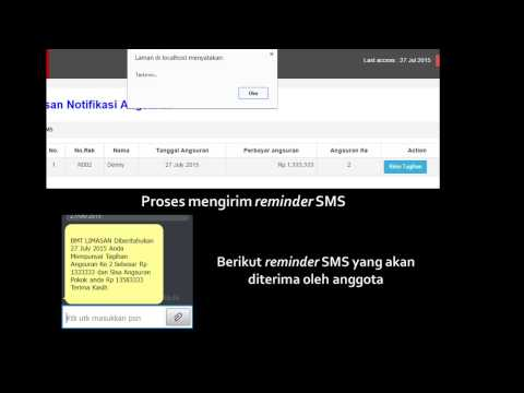 Aplikasi Pengelolaan Pembiayaan BMT