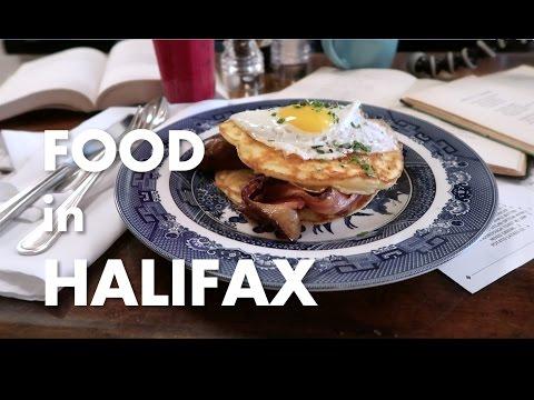 Food in Halifax [Travel Vlog]