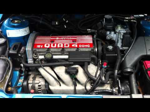 1993 W41 Quad 4 Engine running