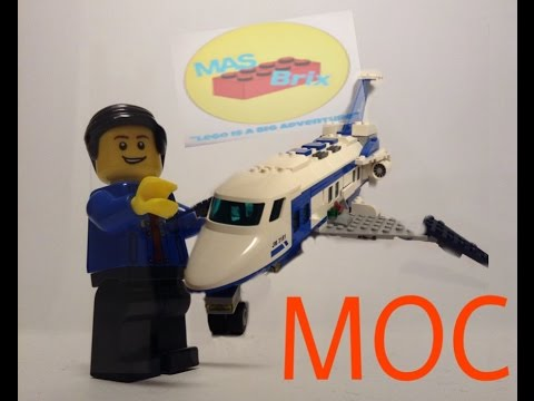 lego cargo plane MOC!!!!!! Review+news from me