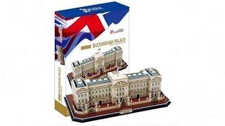"""Palacio de Buckingham"" | ""Buckingham Palace"" - Puzzle 3D"