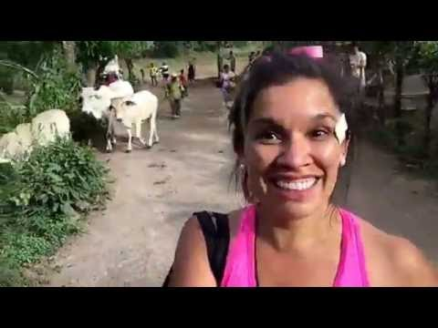 Running with the cows in Nicaragua with @AmigosForChrist