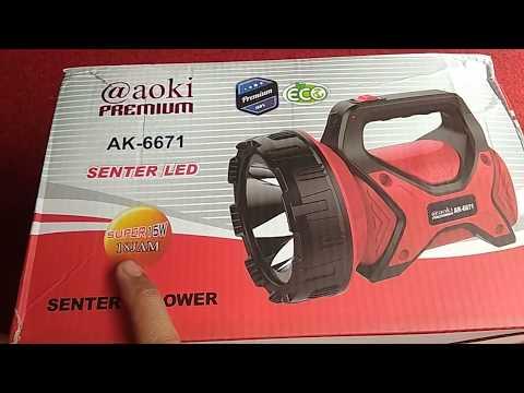 Senter Led Aoki AK 6671