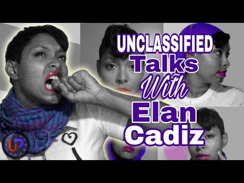 Unclassified Talks with: Elan Cadiz The creator of the scaffold project art exhibition