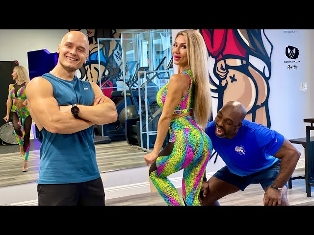 Russian Blondie Saved my Workout