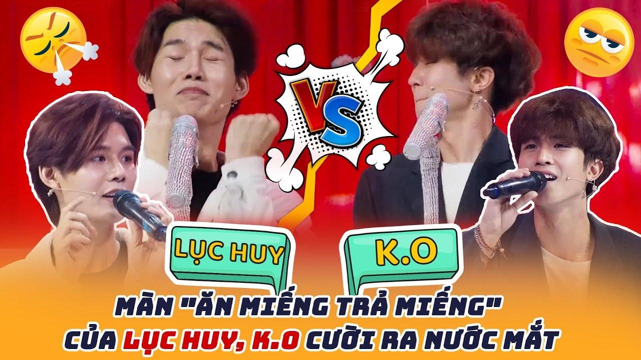 """Màn """"ăn miếng trả miếng"""" của Lục Huy, K.O cười ra nước mắt tại Sàn Đấu Ca Từ 5"""