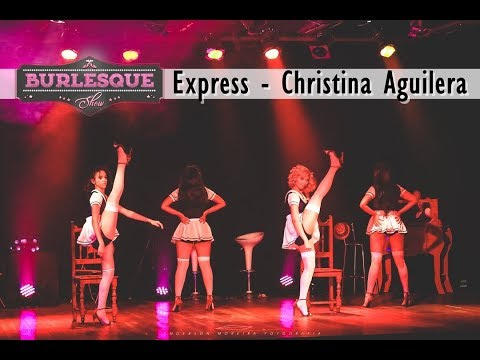 """""""Burlesque Show"""" Espetáculo de dança - Express - Christina Aguilera"""