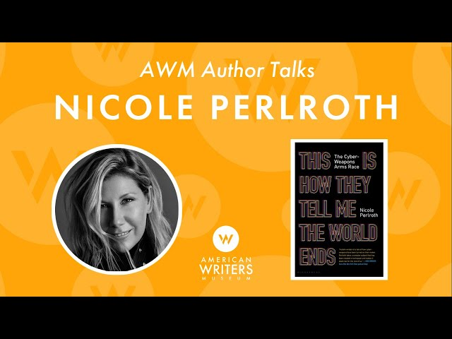 A conversation with Nicole Perlroth, author of