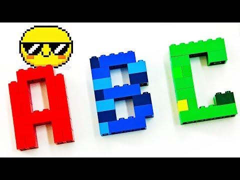 LEGO Alphabet | Learn ABCs | Nursery Rhymes | Kids Songs