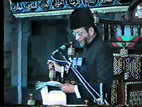 Marsia reciting Moulana Sadiq Razvi