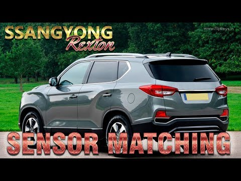 Ssangyong Rexton Key Coding using X100