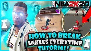 HOW TO BREAK ANKLES EVERYTIME IN NBA 2K20 W/ HANDCAM TUTORIAL! FAST BEST DRIBBLE MOVES AFTER PATCH!