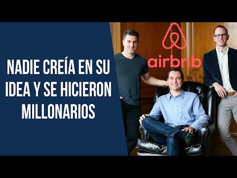 Se Hicieron Millonarios Rentando Habitaciones por Internet | La Historia de Airbnb 💰