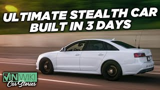 We built a car that's INVISIBLE to cops in 3 days!