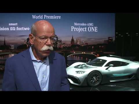 Mercedes Benz at IAA 2017 - Interview Dr. Dieter Zetsche