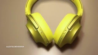 unboxing sony h ear on wireless nc mdr 100abn