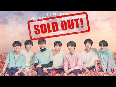 EXPLANATION TO WHY BTS TICKETS SOLD OUT QUICK & WHERE TO BUY | with JON DELORD