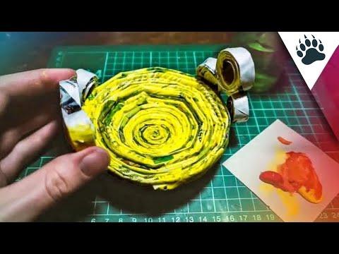 Making an ORIGAMI Paper Bowl - DIY