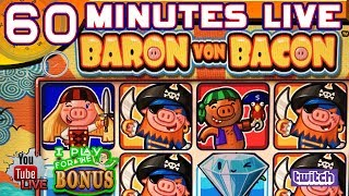 🔴 60 MINUTES LIVE ★ BARON VON BACON - PIRATE