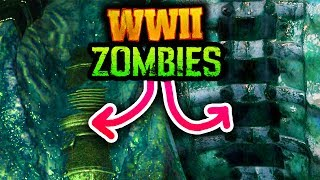 NEW WW2 ZOMBIES TEASER IMAGES & MYSTERIOUS CAPTION! (Call of Duty WW2)