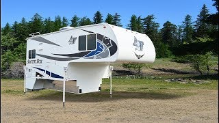 Quick Tour of The New Arctic Fox 992 Pickup Camper