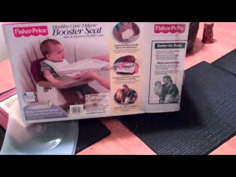 Review For Fisher-Price Healthy Care Delux Booster Seat