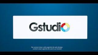 Gstudio | Web Design | Creare Site | Creare Magazin Online | www.gstudio.ro(, 2014-05-30T15:15:17.000Z)