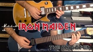 The Trooper Iron Maiden Solo Cover