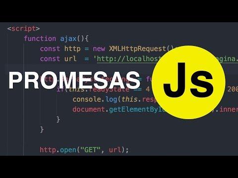 Promesas en Javascript #ES6 thumbnail
